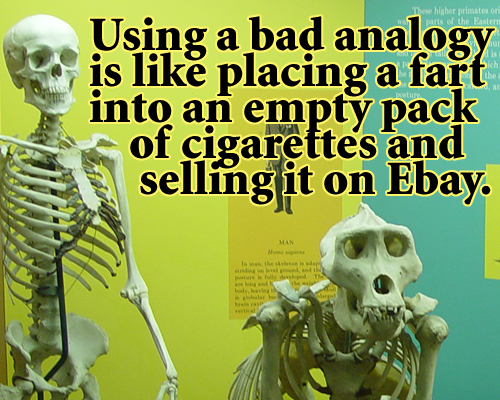 worst analogies in essays