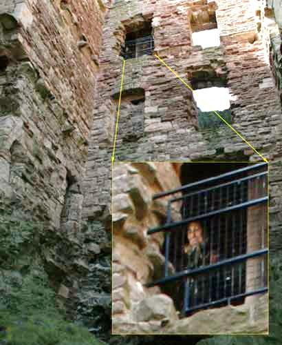 real ghost tantallon castle