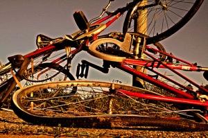 Broken Bike Wheels
