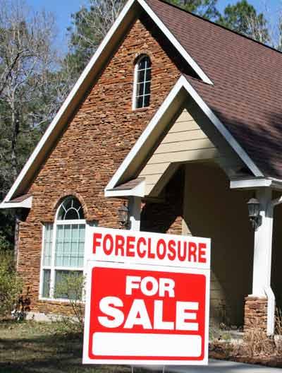 SYMBOL Foreclosure sign