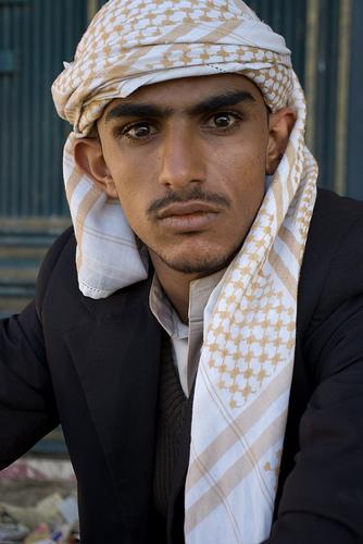 SYMBOL young arab