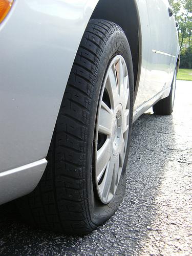 SYMBOLS flat tire