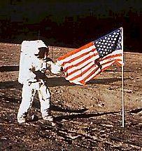 Apollo 11 flag