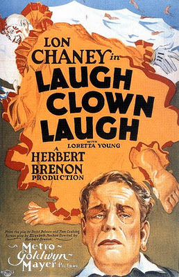 laugh clown laugh poster