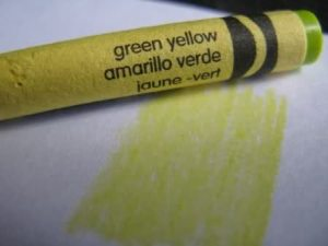 green yellow crayola